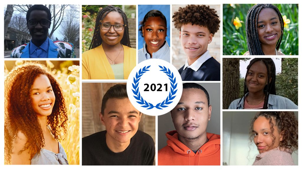 2021 Portland Chapter of the Links and White Rose Educational Fund Scholarship Recipients